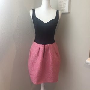 Yoana Baraschi Blue Black & Pink Formal Dress
